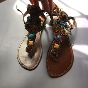 Steve Madden beaded Sandals